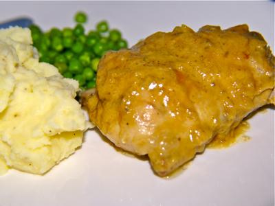 Konijn met roquefort saus met kookvideo - Kookse.tv