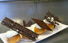 Langoustines met kookvideo for Decoratie chocolade