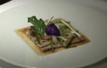 Sashimi van makreel