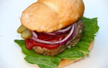 Amerikaanse hamburgers maken
