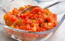 Tomatenrelish pikante