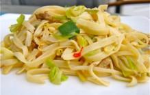Bami naar Indonesisch recept