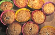 Appel banaan muffins