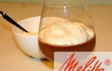 Koffie chocolade potjes