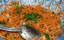 Frisse wortelsla