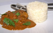 Curry met lamsvlees