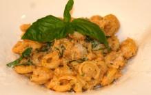 Pasta met Siciliaanse pesto