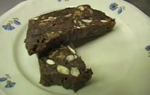 Chocolate con biscotti