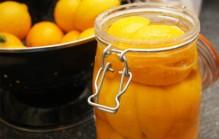 Marokkaanse gekonfijte citroenen