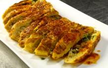 Oosterse omelet bakken