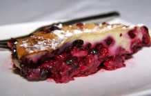 Franse clafoutis met roodfruit