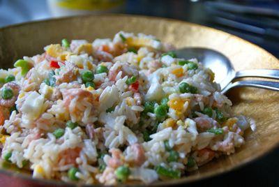 Rijstsalade recept
