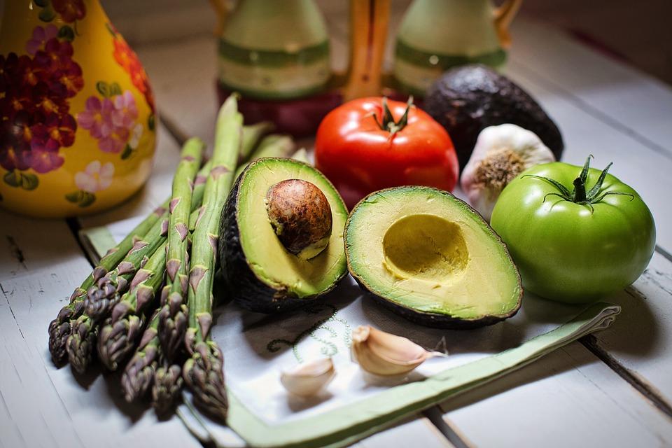 verschillende groenten - op gewicht blijven tijdens feestdagen