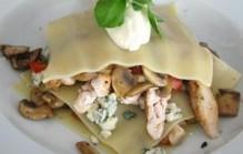 Lasagne met champignons