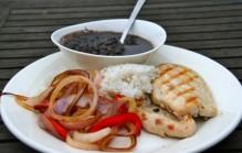 Cubaanse zwarte bonen