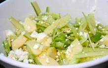 Komkommersalade met appel