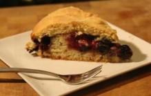 Bramen-bosbessen cake