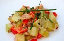 Salade van rivierkreeft