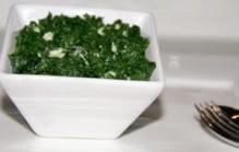 Spinazie met gorgonzola