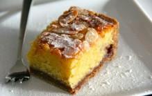 Amandel frambozen gebak