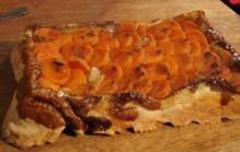 Tarte tatin van wortel