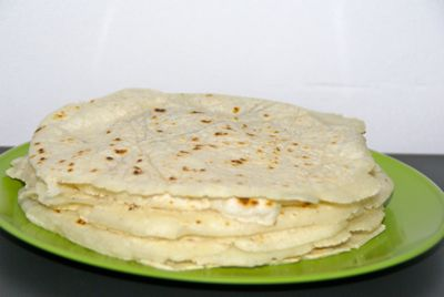 zelf tortilla's maken recept