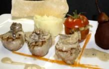 Varkenshaas met oesterzwammen