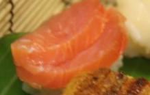 Sushi met zalm