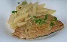 Griekse kalfsschnitzels