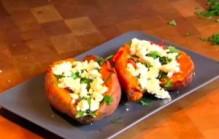 Aardappels poffen in de oven
