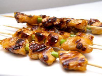 Yakitori recept - Japans gegrilde kip