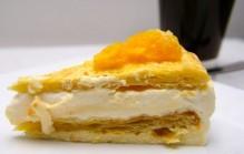 Sinaasappelkwarktaart
