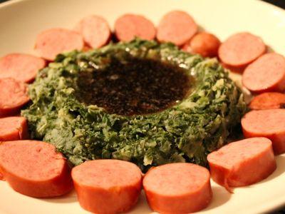 Recept voor boerenkool met worst