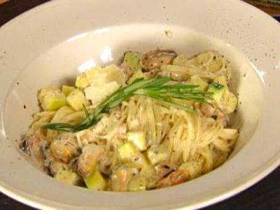 Pasta met courgette recept