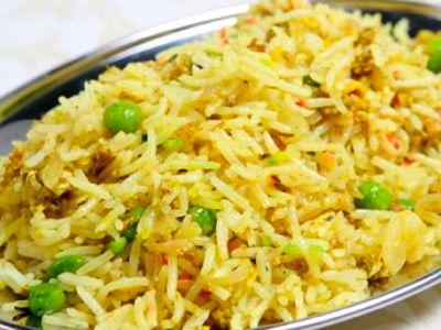 Recept gebakken Chinese rijst