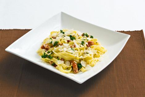 Recept voor Pasta met rivierkreeftjes