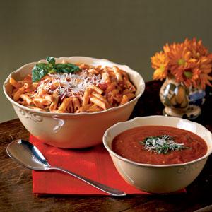 Recept voor pasta arrabiata