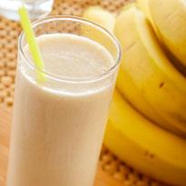 Recept voor Bananenmilkshake