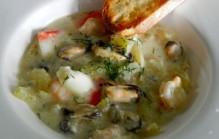 Zeevruchten stoofpot