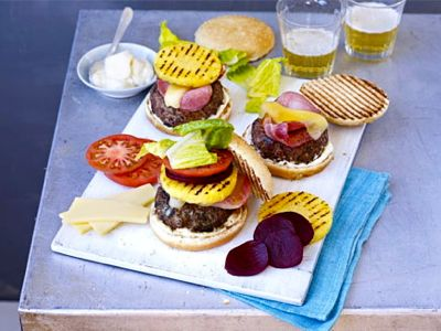 Australische hamburger - recept