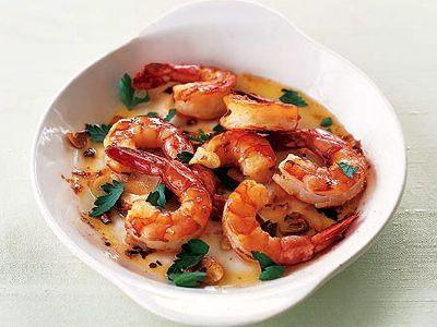 Spaanse garnalen recept