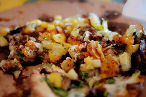 Recept voor Carribische pizza