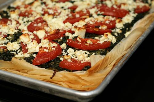 Recept voor Griekse pizza