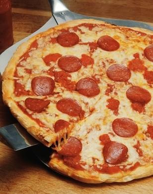 Recept voor pizza salami