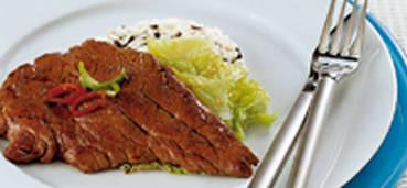 Thaise runderschnitzel