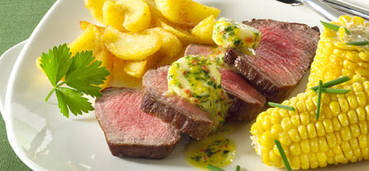 Chateaubriand met kruidenboter