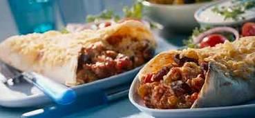 Tortilla's met kidneybonen