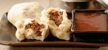 Chinese stoombroodjes met gehakt