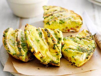Omelet met brie