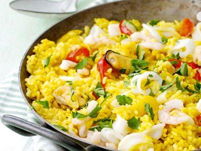 Recept spaanse rijstschotel